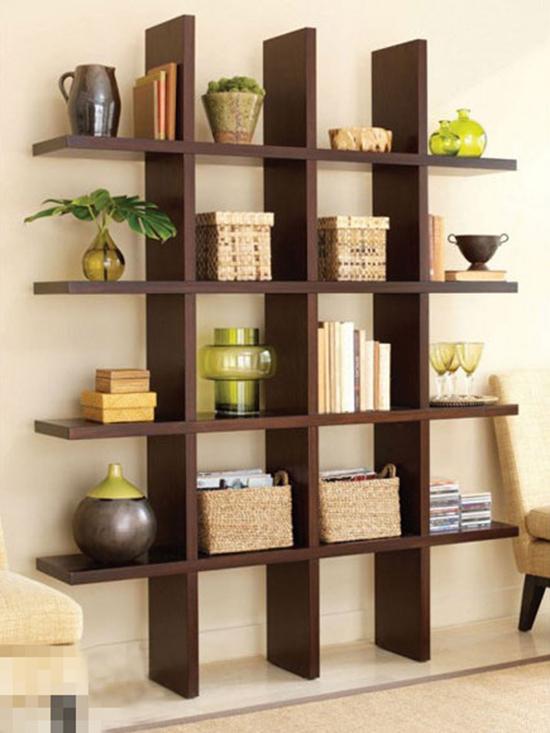 点评:这样一款小书架是不是很节省空间?而且,它还可以充当展示