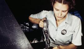 二战美国本土罕见彩照