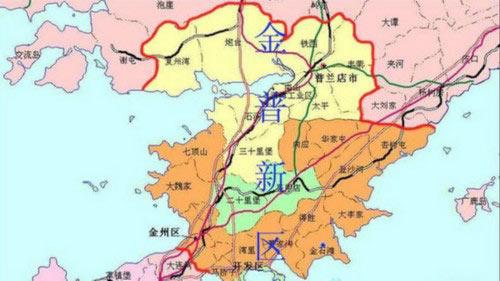 大连金普新区规划图(资料图)